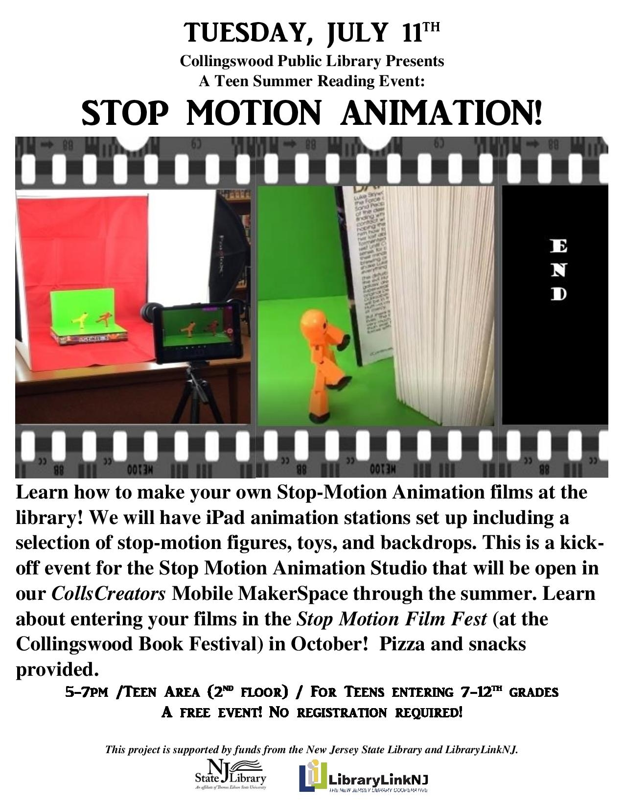 stop motion workshop flyerv2-page-001 | Collingswood Public